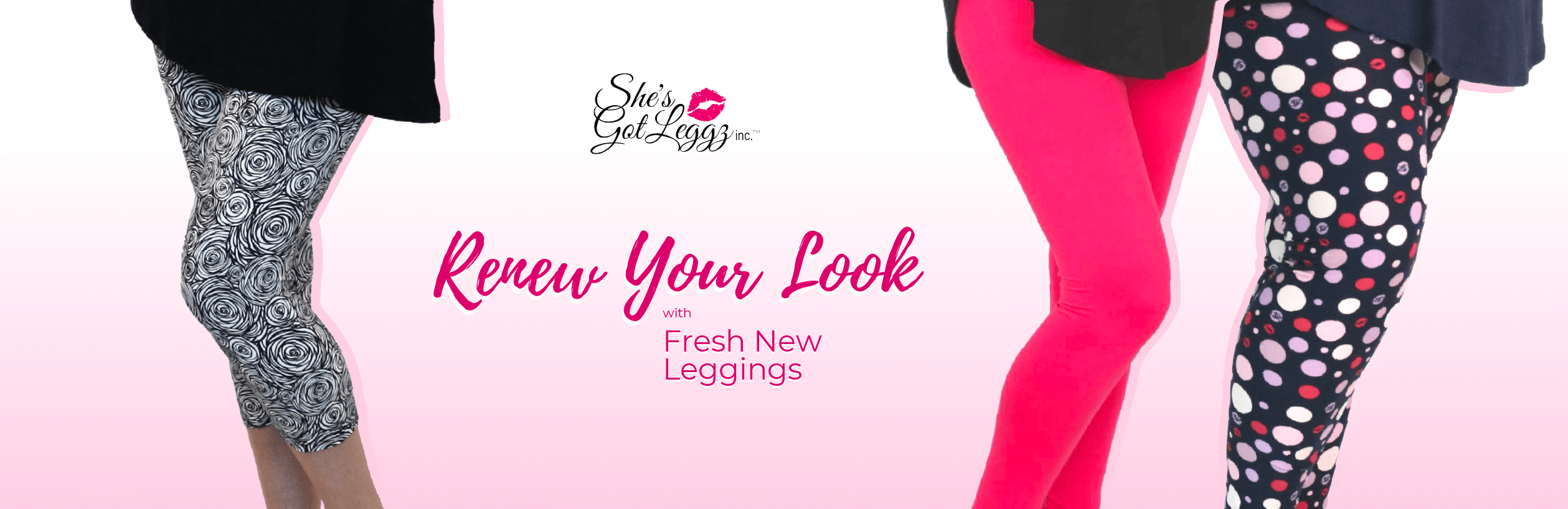 She's Got Leggz New Releases Leggings, Tops, and Accessories